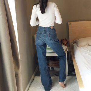Levi's 512 Bootcut Perfectly Slimming Jeans.-W8.